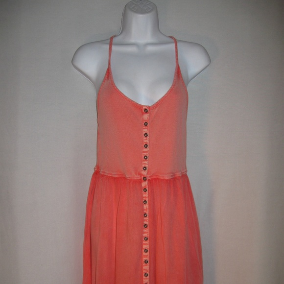d0f2b2a6f9f Ecote Dresses   Skirts - Urban Outfitters Ecote Tank Dress Salmon